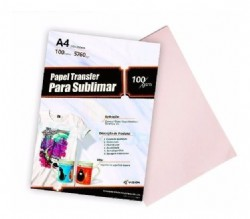 Papel Transfer fundo Rosa -A4