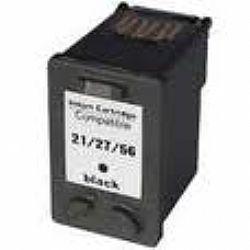 Cartucho Compatível HP 21/ 27/ 56 - Black - 10ml